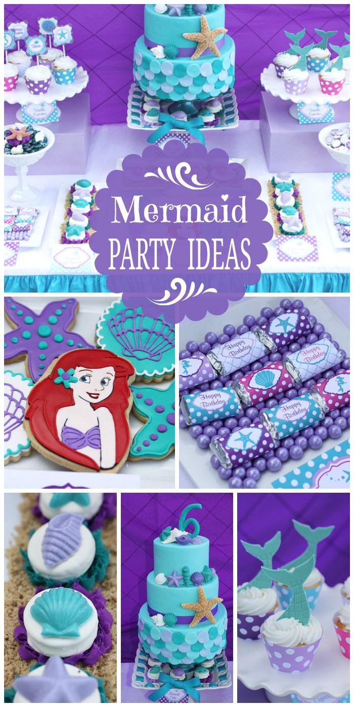 Ideas Fiesta La Sirenita 36