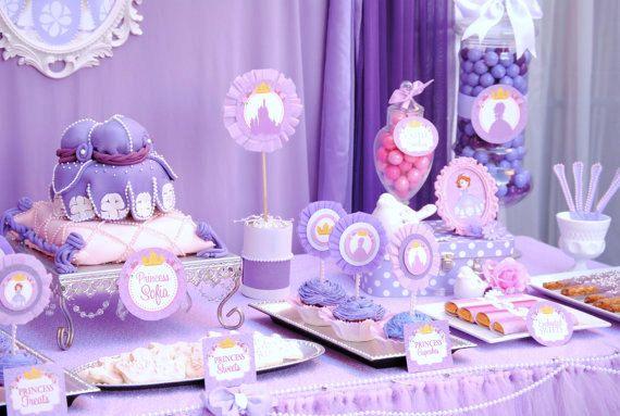 Ideas para Fiesta Cumpleaños Princesita Sofia | Curso de ...