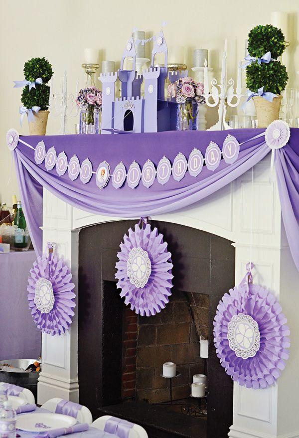 ideas-fiesta-princesita-sofia (21)   Decoracion de interiores ...