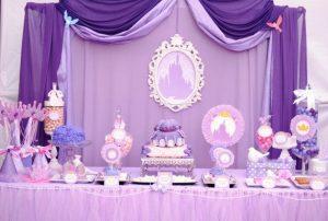 80156e16f Ideas para fiesta de cumpleaños de Princesita Sofia