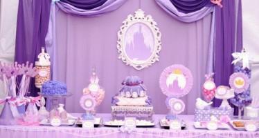 Ideas para Fiesta Cumpleaños Princesita Sofia