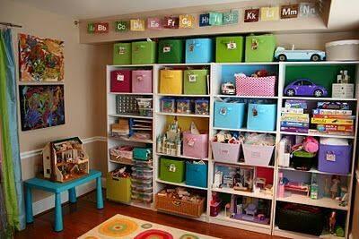 Ideas organizar juguetes 3 decoracion de interiores - Ideas para organizar la casa ...