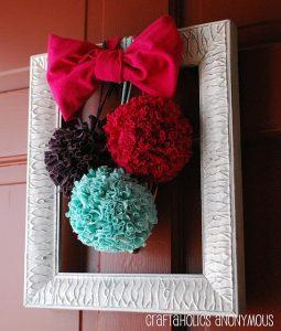 Ideas para decorar la puerta