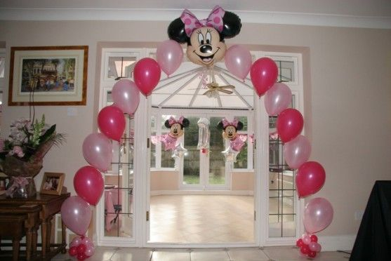 Ideas para fiesta de minnie mouse rosa y negro
