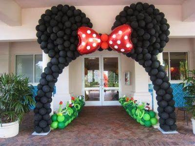 Ideas Para Fiesta De Minnie Mouse Rosa Y Negro Como Organizar La Casa