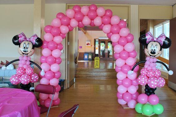 Ideas Para Fiesta De Minnie Mouse Rosa Y Negro 2 Como
