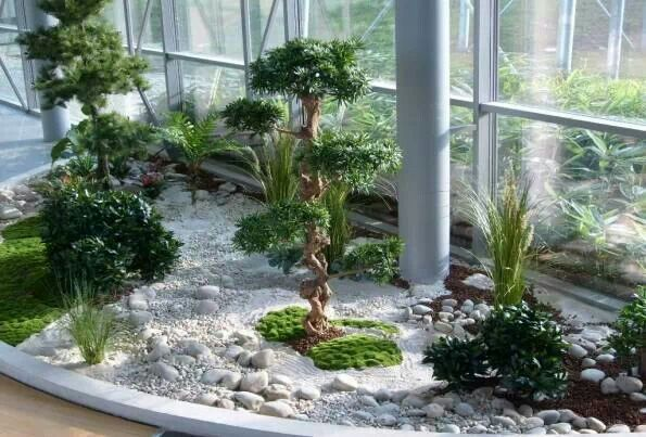Ideas para jardines interiores 4 decoracion de for Decoracion jardin interior