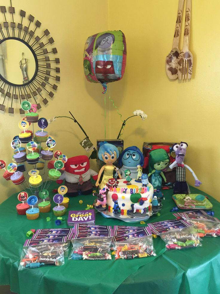 Mesa de postres cumpleanos - Decoracion de mesa de cumpleanos infantil ...