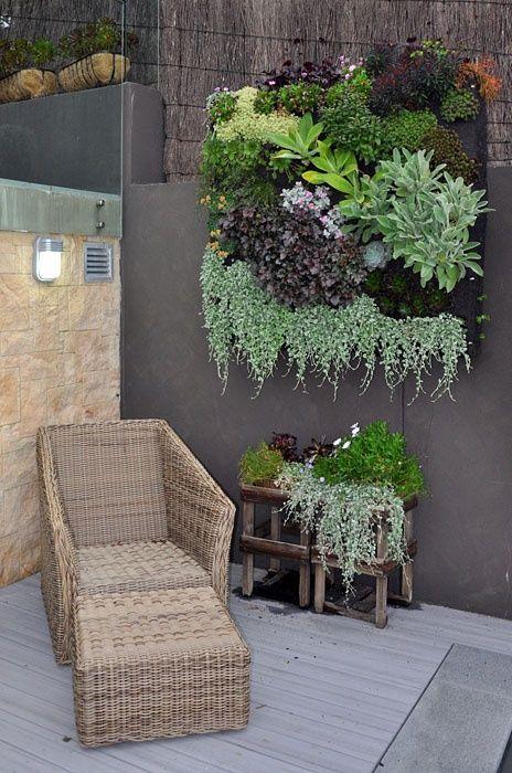 deck jardim vertical:24 opciones para Jardines Verticales