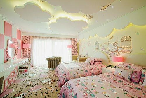 Organizar decorar habitaciones ninasyninos 27 for Cuarto para nina hello kitty