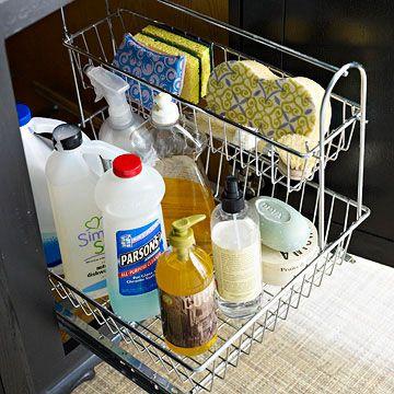 Organizar prductos de limpieza 21 decoracion de - Organizar limpieza casa ...