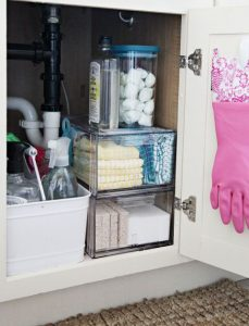 Como organizar productos de limpieza decoracion de - Organizar limpieza casa ...