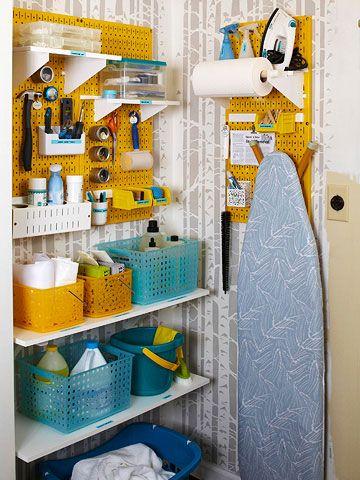 Organizar prductos de limpieza 32 Organizar limpieza casa