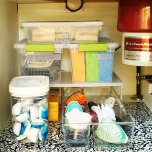 Como organizar productos de limpieza decoracion de for Articulos decoracion casa