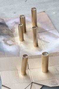 Macetas hechas de PVC paso a paso DIY