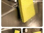 Porta esponjas Reutilizando o Reciclando una botella plástica