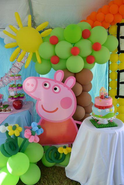 Fiesta de Cumpleaños o Piñata de peppa