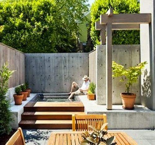 Terrazas Con Alberca Como Organizar La Casa Fachadas