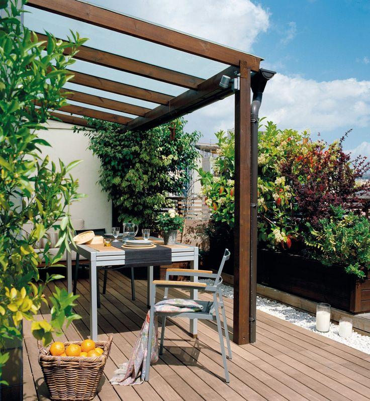Toldos para terrazas decoracion de interiores fachadas for Decoracion de la pared de la terraza