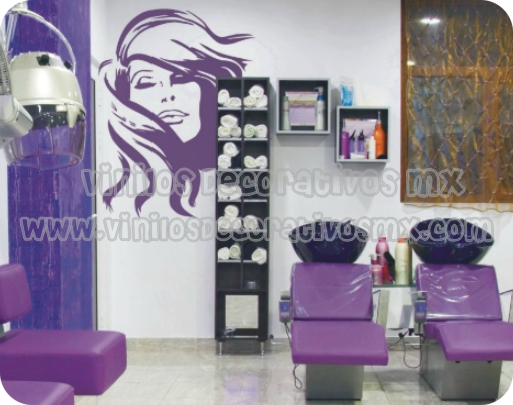 Vinilos decorativos estetica 04 - Vinilos decorativos para muebles de salon ...