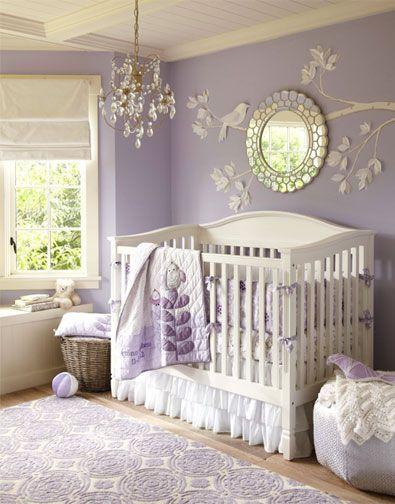 Decoracion de habitacion moderna para bebe Decoracion de