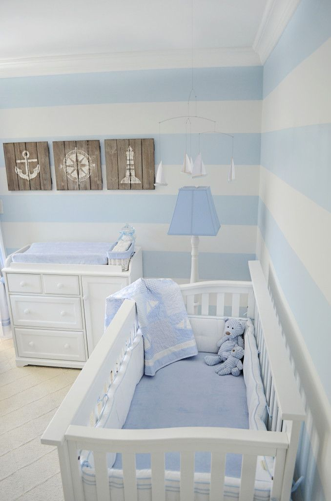 Decoracion De Habitacion Moderna Para Bebe - Adornos-para-habitaciones-de-bebes