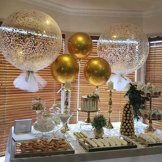 Ideas para decorar mesas de postres baby shower (2)