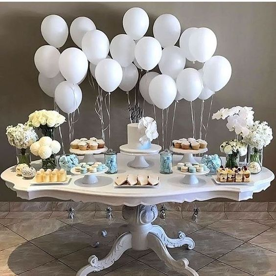 Ideas para decorar mesas de postres baby shower (4)