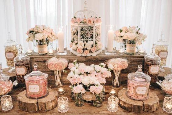 Ideas para decorar mesas de postres despedida de soltera (1)