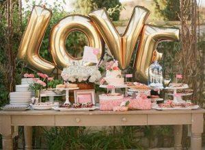 Ideas para decorar mesas de postres despedida de soltera (4)