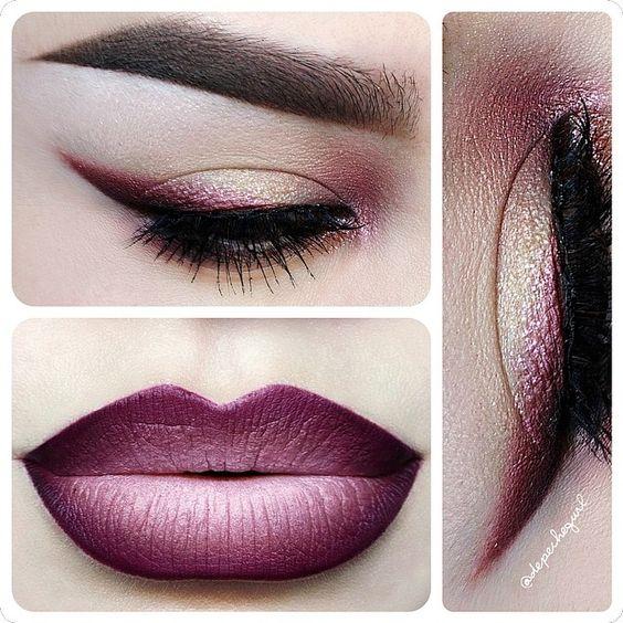 labios ombre tendencia en maquillaje 13 decoracion de