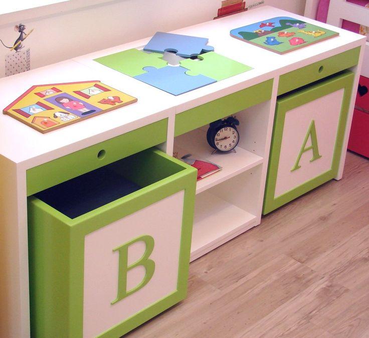 Organizar area de tareas escolares para ni os decoracion de interiores fachadas para casas - Muebles para juguetes infantiles ...
