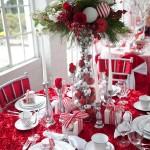 centro de mesa navidad moderno
