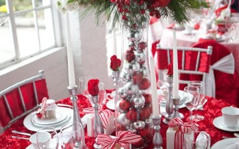Centro de mesa perfecto para navidad 2017- 2018