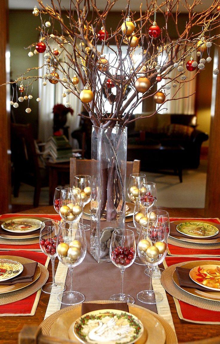Centros de mesa navidad decoracion de interiores for Centros navidad para mesa