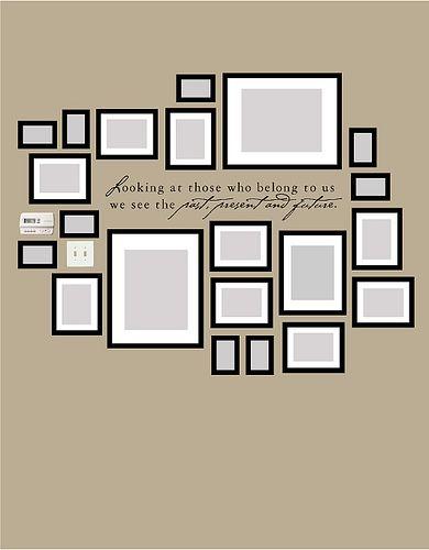 como distribuir cuadros decoracion de interiores fachadas para casas como organizar la casa. Black Bedroom Furniture Sets. Home Design Ideas