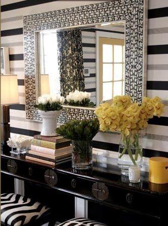 decoracion con espejos cuadrados decoracion de