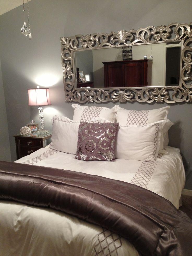 Decoracion de cabeceras con espejos - Decoracion de camas ...