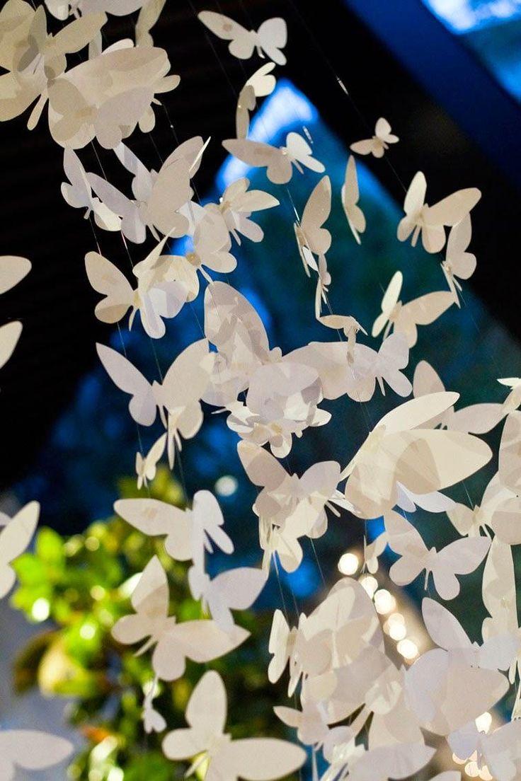 Decoracion de mariposas primera comunion decoracion de for Mariposas de decoracion para pared