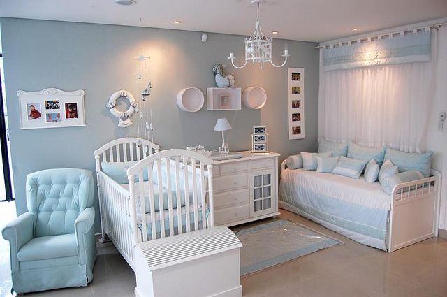 Decoracion de habitacion moderna para bebe | Como Organizar ...