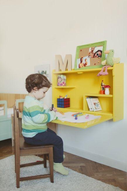 Escritorio infantil para tareas - Mesa infantil plegable ...