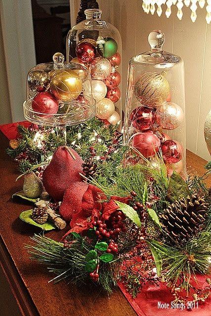 Ideas centros mesa navidad 13 decoracion de interiores for Ideas mesa navidad