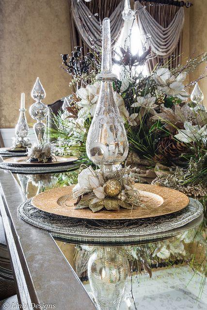 Ideas centros mesa navidad 24 decoracion de interiores - Mesas de navidad 2016 ...