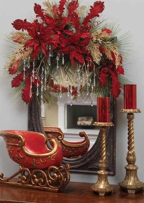 Ideas centros mesa navidad 35 decoracion de interiores fachadas para casas como organizar la - Adornos para la mesa de navidad ...