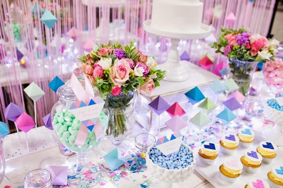 ideas para decorar mesas de postres las mejores