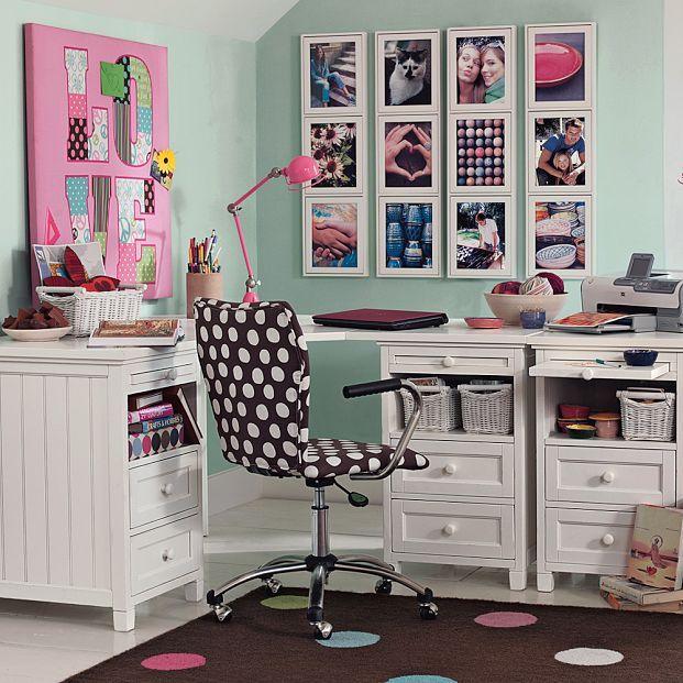 Organizar area de tareas escolares para ni os decoracion - Cuadros habitacion juvenil ...