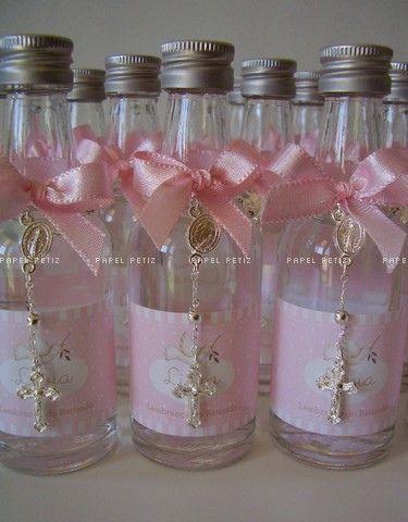Recuerdos en botella primera comunion decoracion de - Como preparar una comunion en casa ...