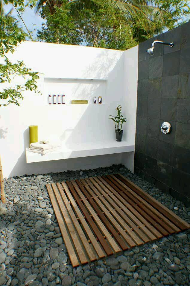 Regaderas exterior para albercas 8 decoracion de for Organizar jardin exterior