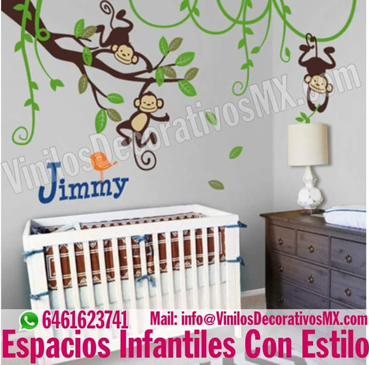 Vinilos decorativos infantiles decoracion de interiores for Vinilos decorativos casa