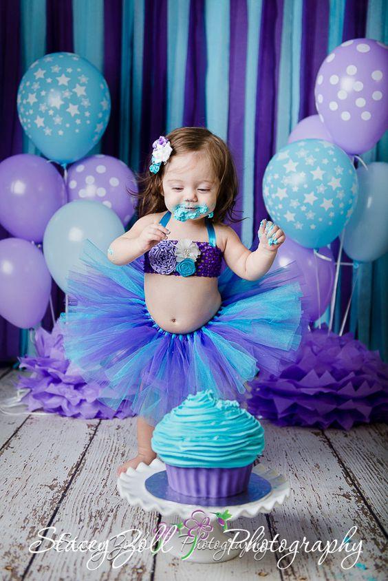 ¿Como vestir a la festejada en una fiesta de la sirenita